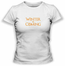 GAME OF THRONES WINTER IS COMING T-SHIRT - Donna