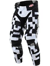 Pantaloni MX Bambino Troy Lee Designs 2018 GP Air Maze Bianco-Nero