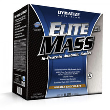DYMATIZE Elite Mass Gainer 4,5K- Gainer per  Aumento Massa!! Double Chocolate