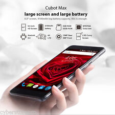Cubot MAX Android 6.0 6.0 pulgadas 4g PHABLET MTK6753 1.3ghz GHz Octa Core 3gb