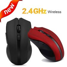 2.4GHz Wireless Optical Cordless Mouse Mice For Laptop PC Computer +USB Receiver