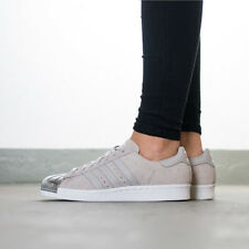New S76711 Womens-ADIDAS SUPERSTAR 80S METAL TOE W-Trainers Shoes UK 6-6,5