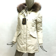 Woolrich Giaccone Donna Beige Cappotto Inverno Luxory Artic Parka 2131 Originale