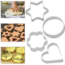 Stainless Steel Biscuit Cookie Cake Pastry Fondant Mold Mould Cutter