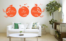 Love Joy Peace Quote, Wall Art Stickers Decal Murals, Bedroom, Study, Lounge