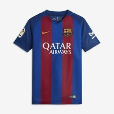 Nike FC Barcelona Yth Home Supporters Tee - boys Shirts 2016-17 #777020-481