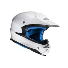 HJC CASCO MOTO CROSS BIANCO SOLID FX-CROSS HELMET