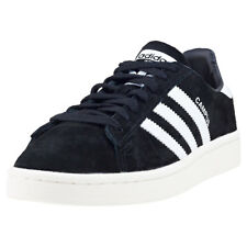 adidas Campus Mens Black Suede Casual Trainers Lace-up Genuine Shoes New Style
