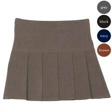 Girl's 6-Pleat School Skirt - Secondary School - many colours