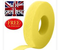 VELCRO® brand Hook and loop back to back strapping ONE-WRAP® 2CM in YELLOW