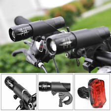 LED Bici Bicicleta Ciclismo Luz Linterna Antorcha Flashlight Zoomable Lámpara