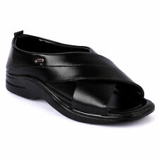 Action Shoes Dotcom Men's Formal Sandal (Dc-5401-Black)