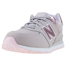 New Balance KL574 Grade School Kids Grey Synthetic Casual Trainers Lace-up