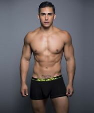 Men's ANDREW CHRISTIAN ALMOST NAKED SPORTS BOXER GENUINE UNDERWEAR 90118 Size S