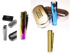Clipper Metal Lighter with Metallic Finish Gift in Different Colors