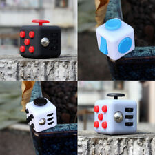 Fun Fidget Cube Dice Cubic Toys Anxiety Stress Relief Children Adults Gift