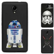 Coque souple noire pour Wiko Robby - Collection : Stars
