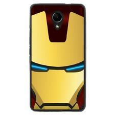 Coque souple noire pour Wiko Robby - Collection : Iron