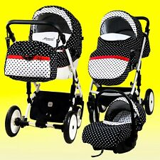 Pram stroller pushchair travel system option car seat 3,2,4 in 1 buggy baby iso