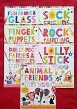 CHILDRENS CRAFT BOOKS - MAKE & CREATE - 7 TO CHOOSE FROM - BRAND NEW