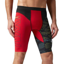 Reebok CrossFit Compression Shorts Men's Training Tight Supportive Wicking