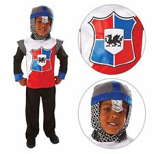 bambino Cavaliere Medievale LORD Crusader Book Week COSTUME VESTITO BN