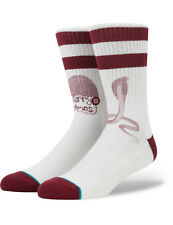 Stance Pope Xmas Crew Socks in Natural