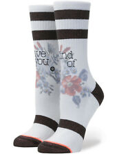 Stance Maybe Baby Crew Socks in White