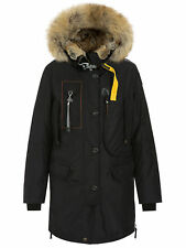 Parajumpers Women's Kodiak Lapin Fur-W Parka PW JCK MA42 Black