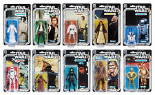 HASBRO STAR WARS THE BLACK SERIES 6 INCH 40TH ANNIVERSARY ACTION FIGURES