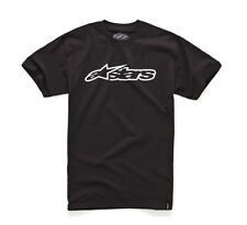 Alpinestars Blaze Basic Shirt Schwarz Weiß MX Moto Cross Racing Enduro MTB DH