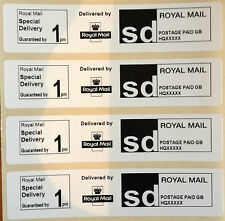 Roll Printed Royal Mail SPECIAL DELIVERY 1pm PPI Postage Labels