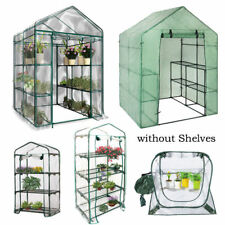Travel Shade Walk In Greenhouse Plant Shed Garden Storage PVC Covers Apex Roof