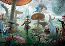 Alice In Wonderland Movie Characters Wall Art Poster Print A0 A1 A2 A3 A4