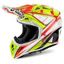 CASCO MOTO CROSS AIROH AVIATOR 2018 DOUBLE ORANGE GLOSS AV22DB32