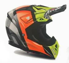 CASCO MOTO CROSS AIROH AVIATOR 2018 REVOLVE ORANGE GLOSS AV22RV32