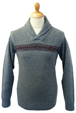 Men's Sweater - Gabicci - Baggio - Thick Knitted Jumper Cardigan  - Grey - New
