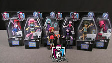 NEW Monster High Mega Bloks skullection figures Collection 3 x2x3x4 Set Playsets