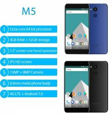 Vernee M5 mtk6750 4g+32g / 64g 5.2″ Smartphone Octa Core 1.5ghz Android 7.0 dedo