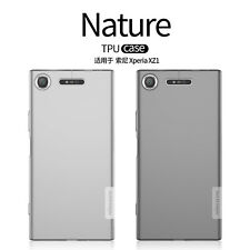 NILLKIN Mat Antichoc Nature TPU Gel Coque Silicone Housse Pour Sony Xperia XZ1