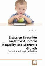 Essays on Education Investment, Income Inequality, and Economic Growth: Theoreti