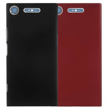 Peapod® Matte Rubberised Slim Hard Back Rear Cover Case for Sony Phones