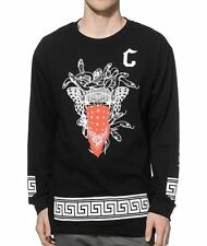 CROOKS & CASTLES CROOKS STANDARD LONG SLEEVE T-SHIRT - BLACK