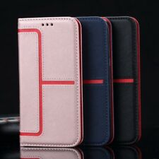 Magnetic Luxury Leather Flip Stand Wallet Case Cover For Apple iPhone 6S 7 Plus