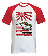 KYUSHU J7W1 SHINDEN - NEW COTTON BASEBALL TSHIRT ALL SIZES