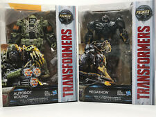 Transformers The Last Knight Premier Voyager-Megatron-Autobot Hound- New in Box