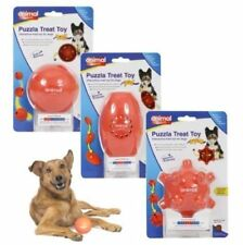PUZZLA INTERACTIVE DOG PUPPY TREAT DISPENSING PUZZLE TOY 3 LEVELS XMAS GIFT
