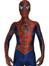 Sam Raimi's Spiderman Outfit - Superhero Costume - Halloween Spandex suit