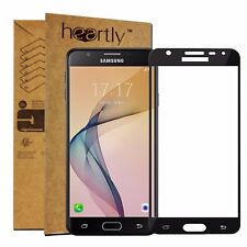 Heartly Tempered Glass 3D Curved Full Screen Protector For Samsung Galaxy J7 Max