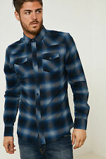 threabare Hombre Batchelor Camisa de manga larga de marca ATTIC